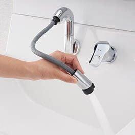INAX 洗面化粧台 Piara くるくる水栓 ホース収納