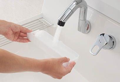 INAX 洗面化粧台 Piara 仕切りトレイ2