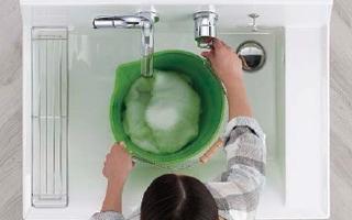 INAX 洗面化粧台 Piara ひろびろボウル イメージ