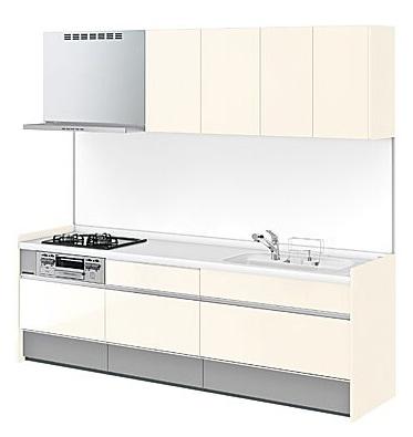 LIXIL システムキッチン Shiera(シエラ) ペールホワイト