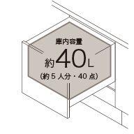 LIXIL システムキッチン Shiera(シエラ) 食器洗い乾燥機 浅型タイプ