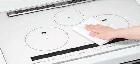 LIXIL システムキッチン Shiera(シエラ) ガラストップガスコンロ