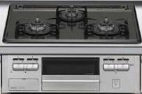 LIXIL システムキッチン Shiera(シエラ) 3口ガスコンロ イメージ