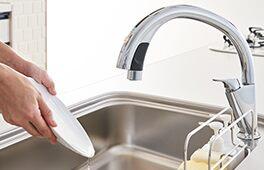 LIXIL システムキッチン Shiera(シエラ) ハンズフリー水栓2