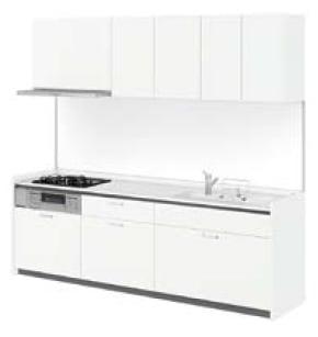 LIXIL システムキッチン Shiera S(シエラ S) スムースホワイト