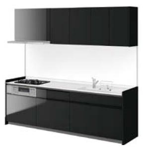 LIXIL システムキッチン Shiera S(シエラ S) ディープグレー