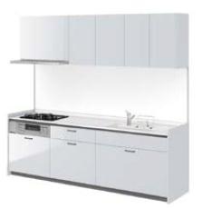 LIXIL システムキッチン Shiera S(シエラS)  スライドストッカープラン イメージ