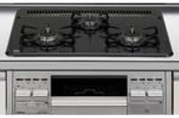 LIXIL システムキッチン Shiera S(シエラ S) 3口ガスコンロ イメージ