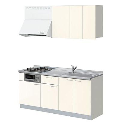 LIXIL コンパクトキッチン Tio(ティオ) ペールホワイト