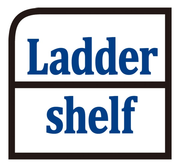 Ladder shelf ロゴ
