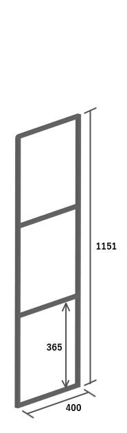 高さ1151mm イメージ