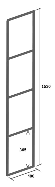 高さ1153mm イメージ