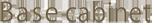 Base cabinet logo