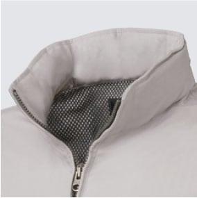 タカヤ 空調服 GRANCISCO GC-K005 立ち襟仕様で首元も快適に。