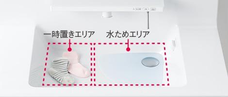 TOTO 洗面化粧台 オクターブ 洗面ボウル画像4