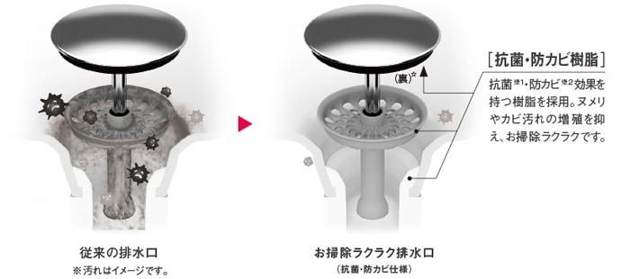 TOTO 洗面化粧台 オクターブ 洗面ボウル画像6