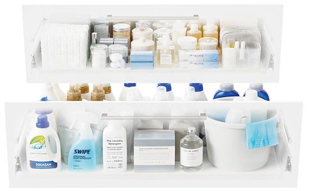 TOTO 洗面化粧台 オクターブ 収納キャビネット イメージ