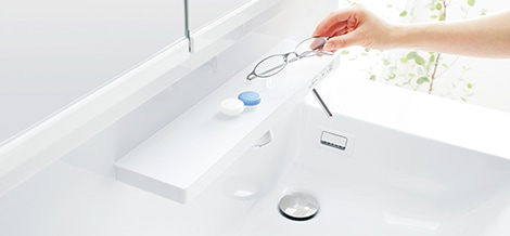 TOTO 洗面化粧台 Octave スマート棚 イメージ