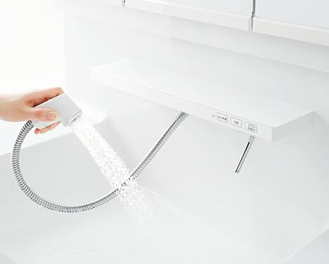 TOTO 洗面化粧台 オクターブ ハンドシャワー