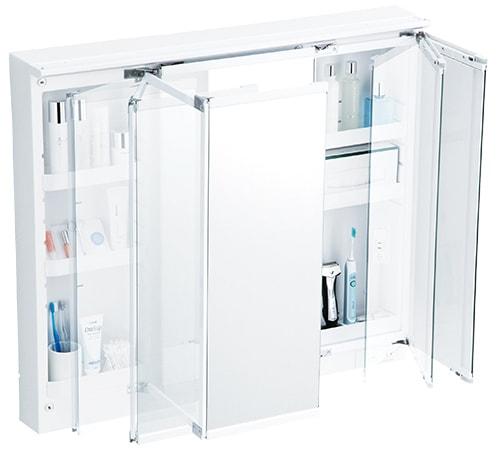 TOTO 洗面化粧台 オクターブ 化粧鏡 スウイング三面鏡 イメージ1