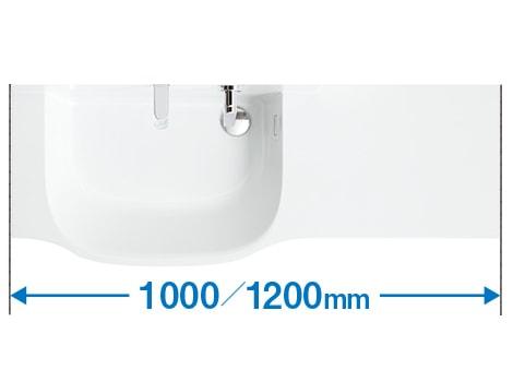 TOTO 洗面化粧台 オクターブスリム 定寸タイプ