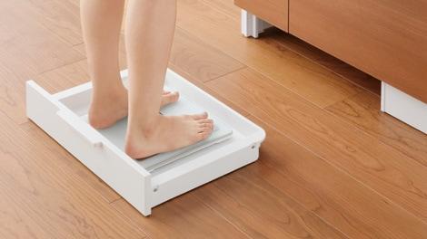 「体重計収納」イメージ