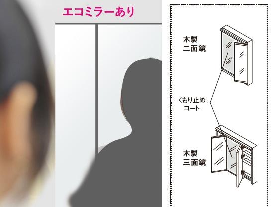 TOTO 洗面化粧台 ドレーナ(drena) エコミラー