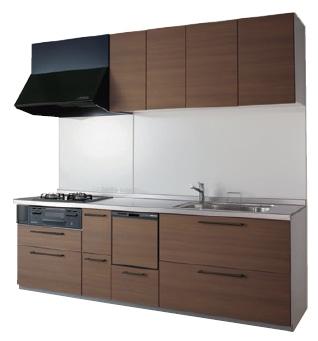 TOTO システムキッチン ミッテ I型 基本プラン イメージ