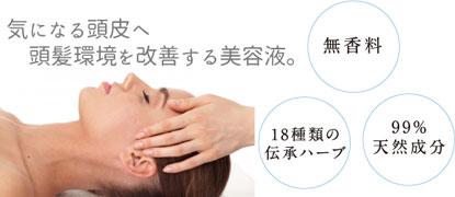 頭髪環境を改善する美容液