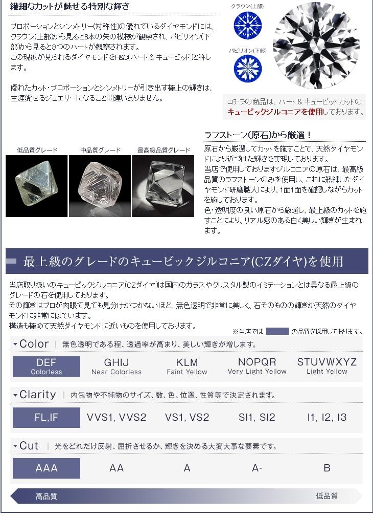 H&C輝く★デザイナーズ プチハート ネックレス&ピアス セット