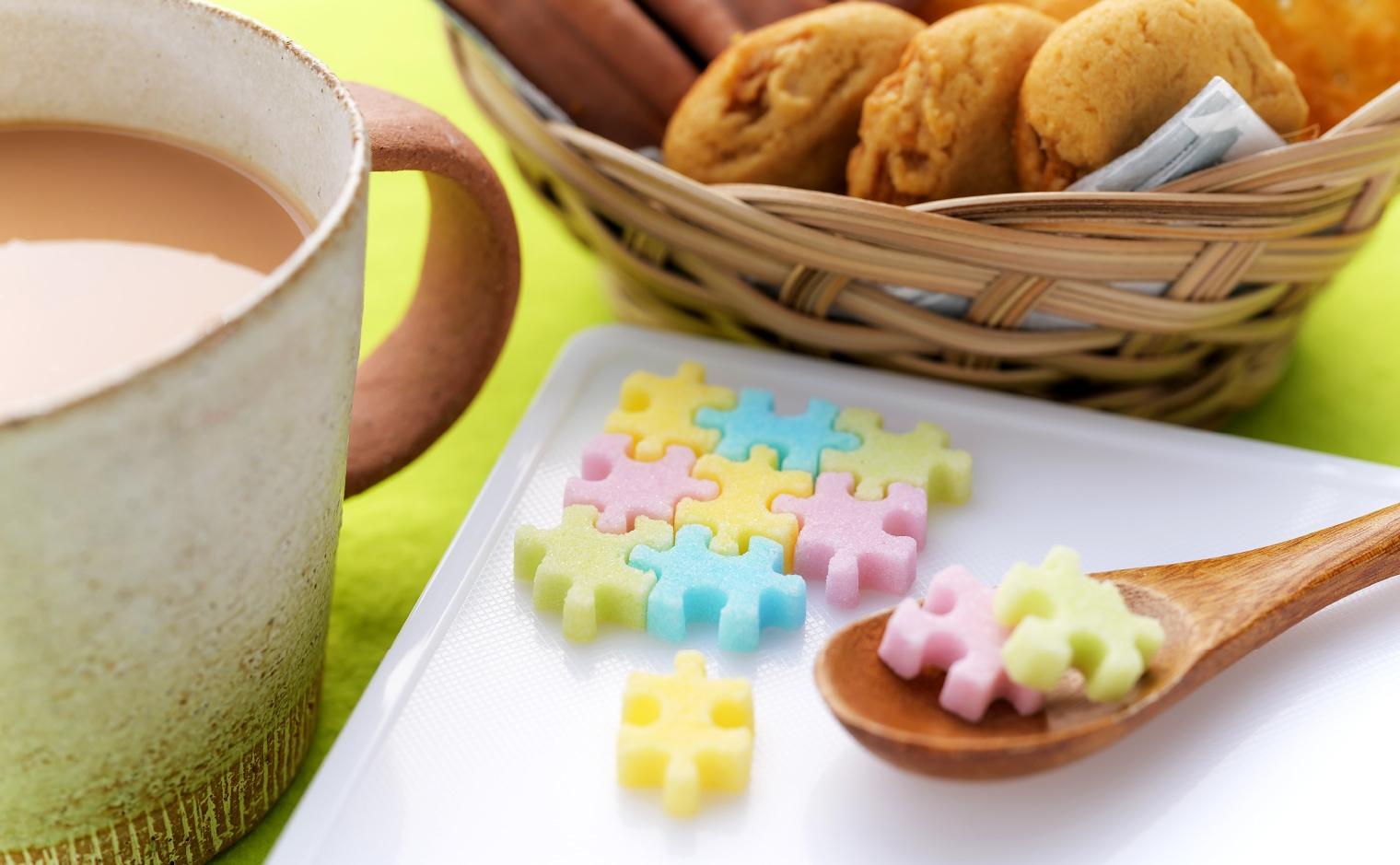 デザインシュガー,物語のある砂糖,かわいい,可愛い,角砂糖,ジグソーパズル