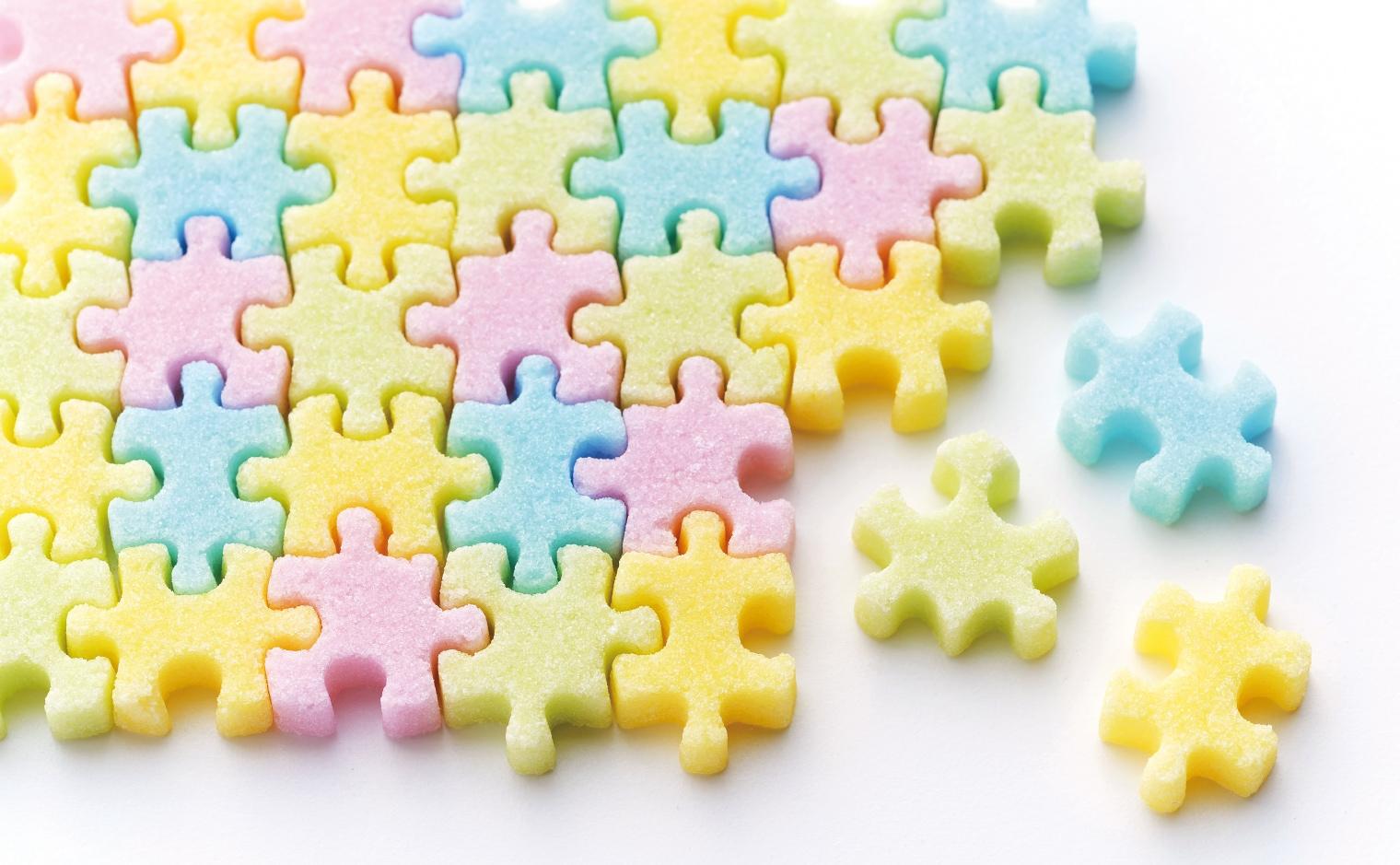 物語のある砂糖,ジグソーパズル