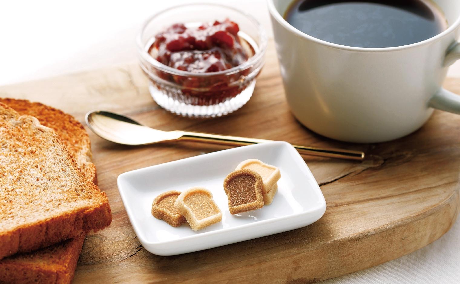 デザインシュガー,物語のある砂糖,かわいい,可愛い,角砂糖,食パン