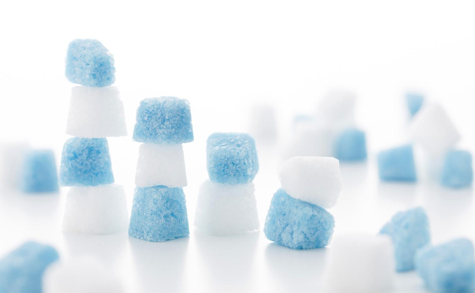 デザインシュガー,物語のある砂糖,かわいい,可愛い,角砂糖,ブルーハワイ,フランス風,ブルー,ハワイ,フレンチ,スカイブルー,カクテル,流氷