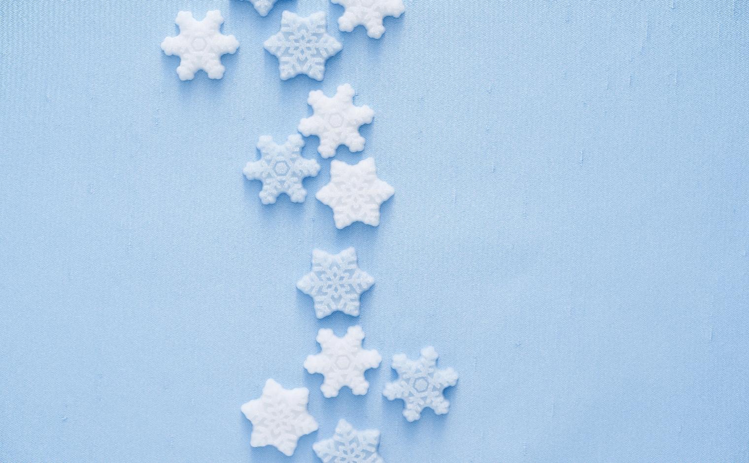 デザインシュガー,物語のある砂糖,冬,雪,結晶,雪結晶,スノー,snow