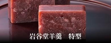 岩谷堂羊羹 特型