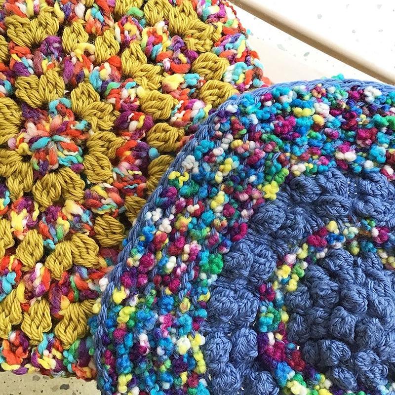 ウミウシ ポコポコで編む棒針おざぶ