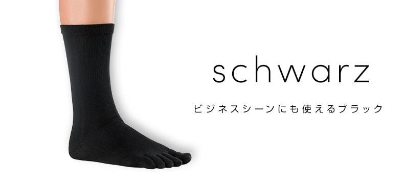 銀繊維 抗菌靴下 黒
