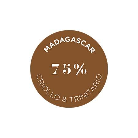 クリュ デクセプション 75% マダガスカル - クリオロ トリニタリオ