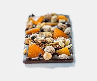マンディアン ノワール 75% アーモンド/イチジク/オレンジコンフィ