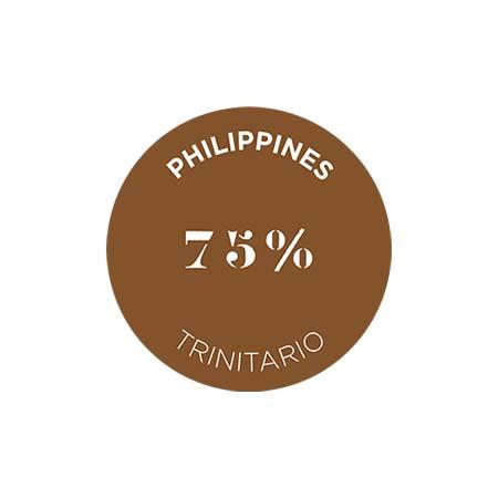 クリュ デクセプション 75% フィリピン - トリニタリオ