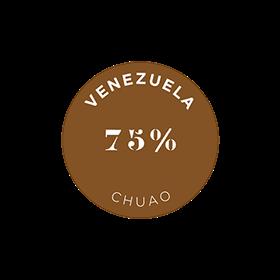 クリュ デクセプション 75% ベネズエラ - チュアオ