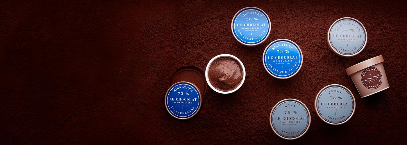 ル・ショコラ・アラン・デュカスのアイスクリーム「グラス」
