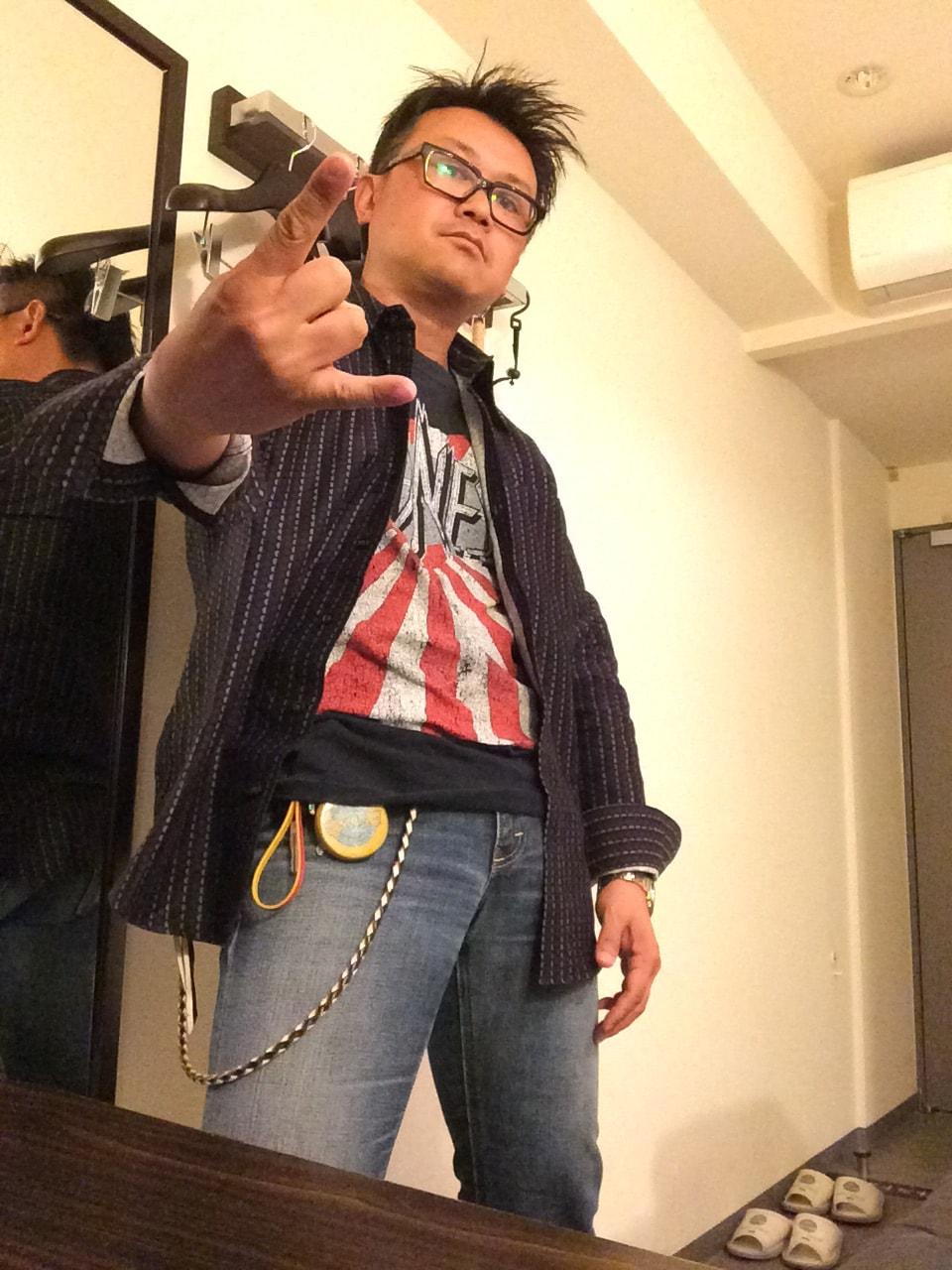 上野 創(はじめ)様の着こなし!