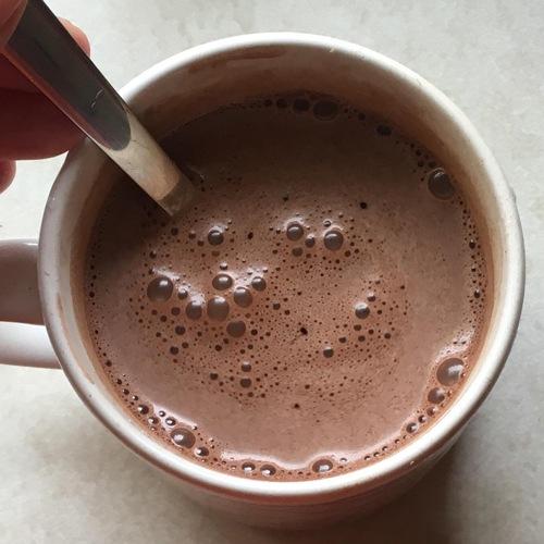ホットワインチョコレートドリンク