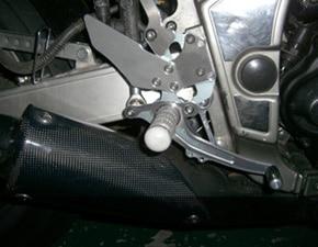 SRX用削り出しステップ装着例
