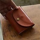 BL-PT-0031 ミニ財布 レッドブラウン