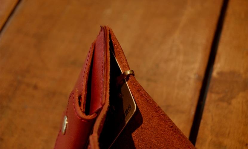 BL-NW-0046 ミニ財布 レッド