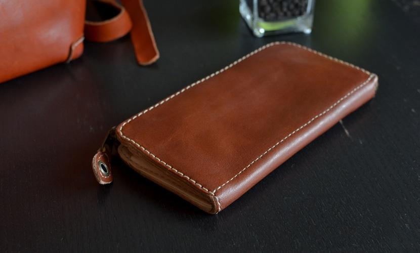 BL-PT-0016 長財布 チョコ
