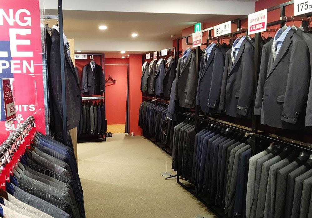 スーツ&スーツ 新橋店